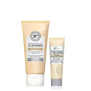 IT Cosmetics Confidence in a Cleanser & gel lotion